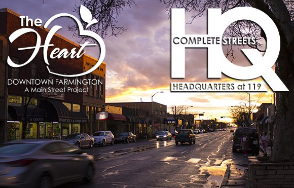 Complete Streets HQ and The Heart Downtown Farmington: A MainStreet Project