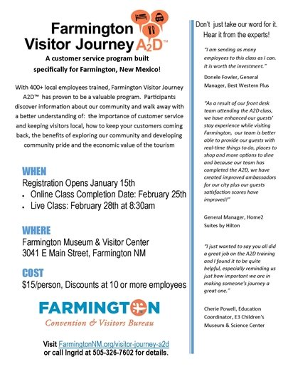Visitor Journey A2D Feb 2019