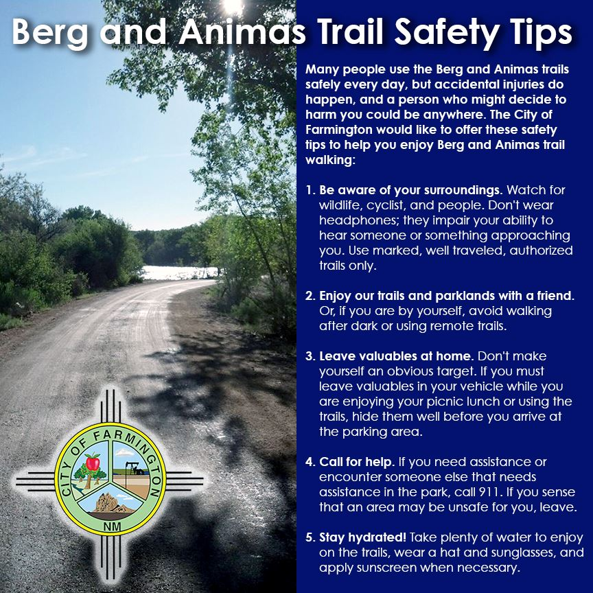 Berg-Animas Trail Safety_Tips