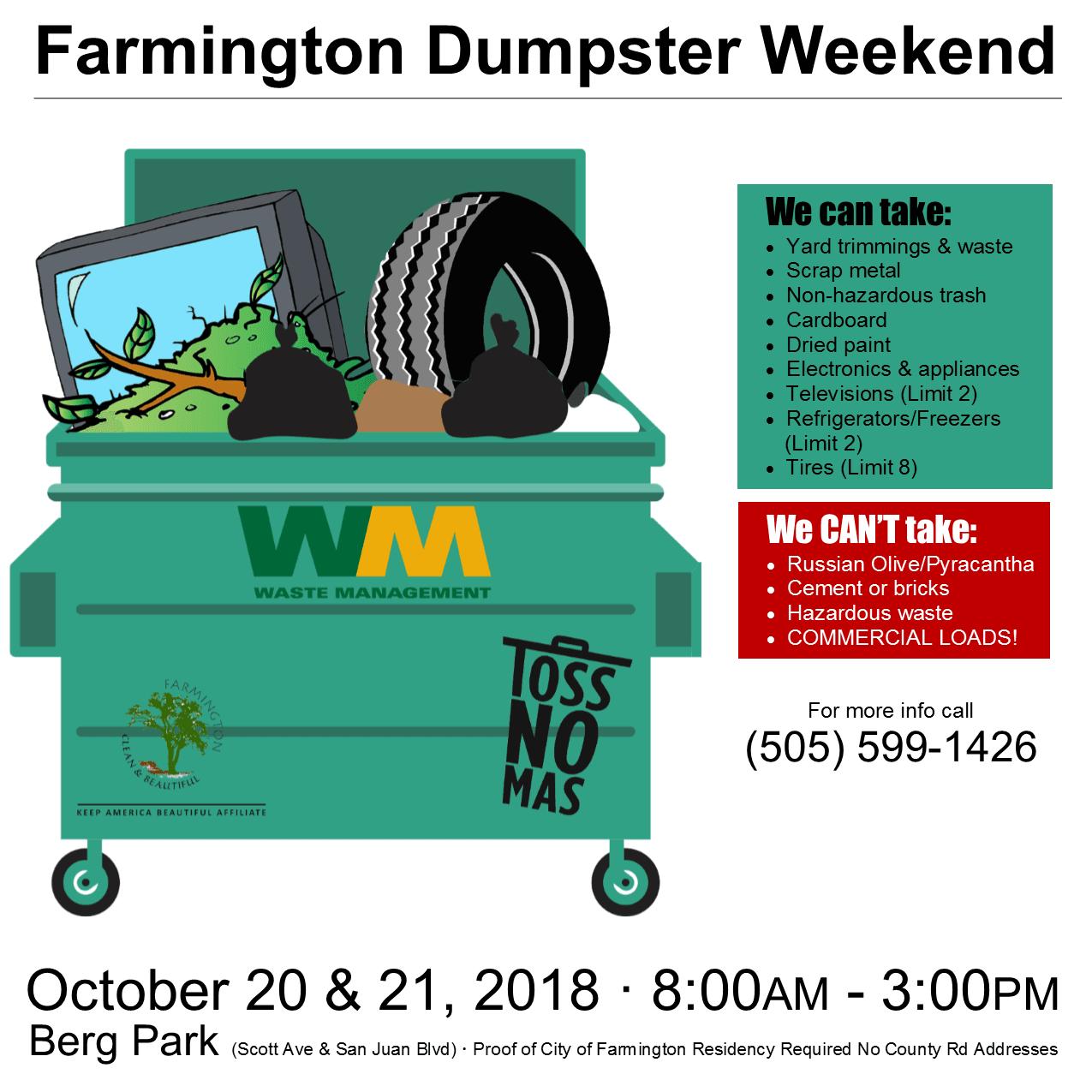 Dumpster Flyer