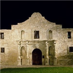 Photo of the Alamo by Carol Highsmith, c1990 (Library of Congress)
