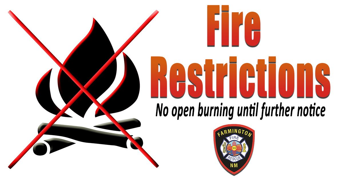Fire Restrictions FB