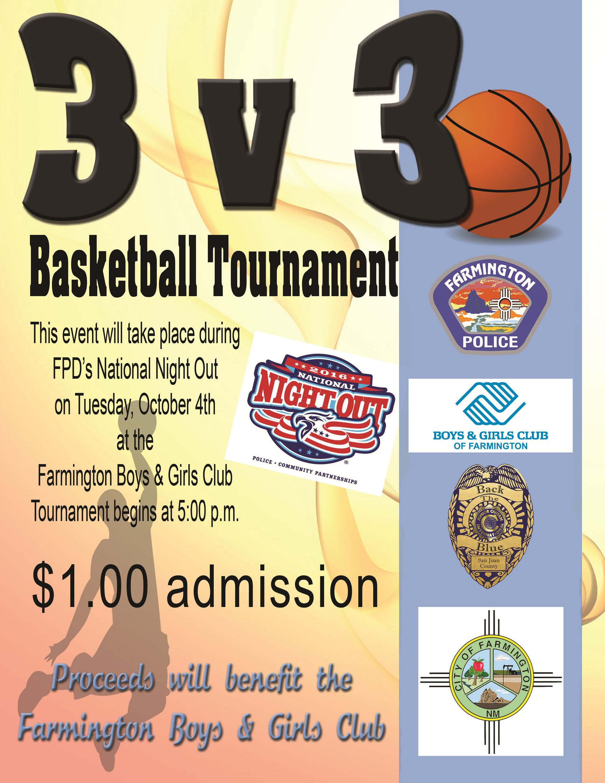 Bball Tournement Flyer