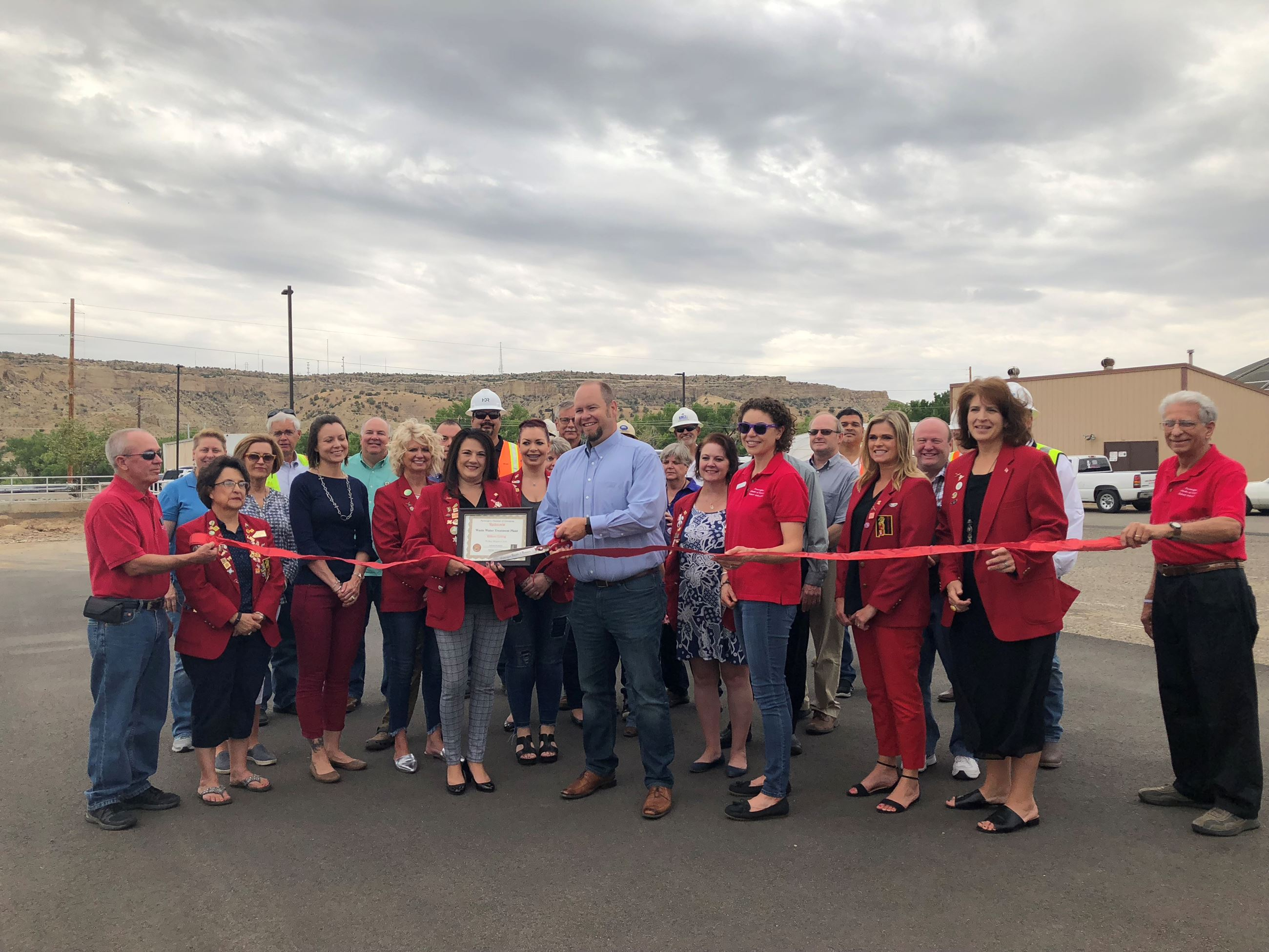 WWTP Ribbon Cutting 2018