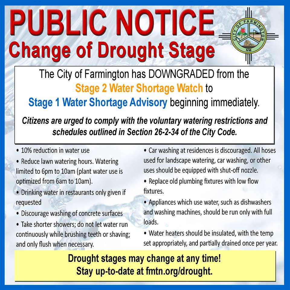 Drought Press Release