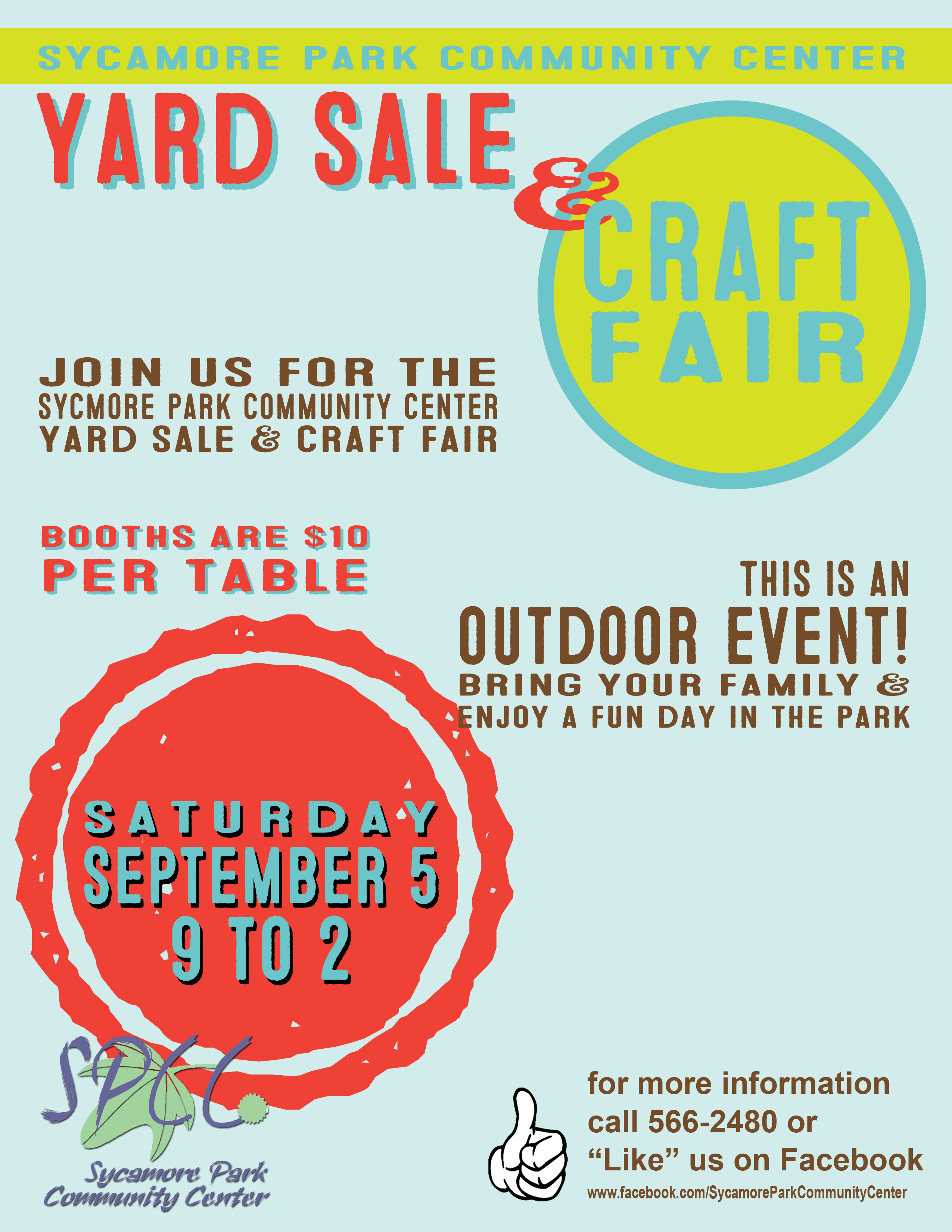 Fall Yard Sale and Craft Fair