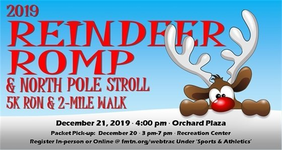 Reindeer Romp 2019 poster