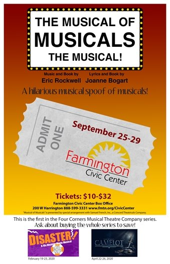 The Musical of Musicals: The Musical! poster