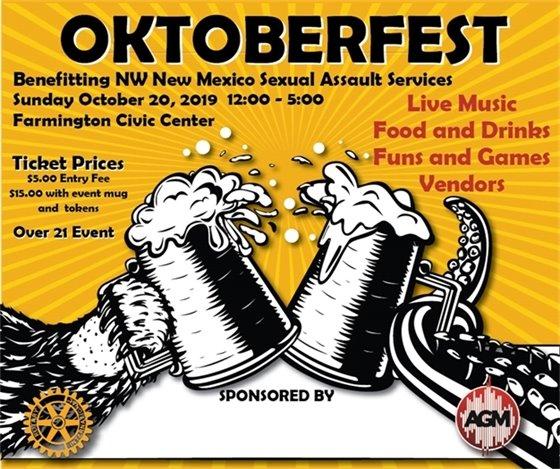 Oktoberfest Rotary Oct 20 Civic Center