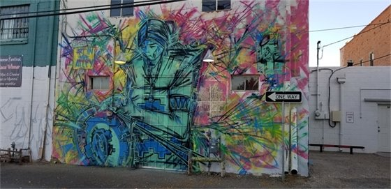 Ivan Lee Mural on HQ complete