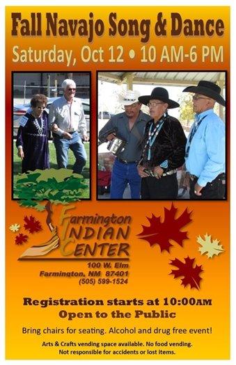 Fall Navajo Song & Dance