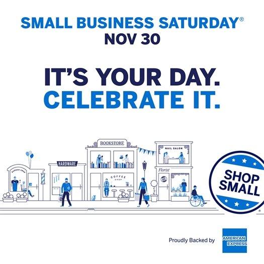 Small Business Saturday Nov 30 2019