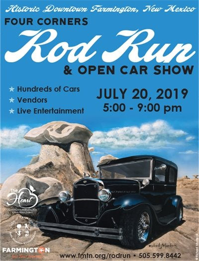 Rod Run 2019 flyer