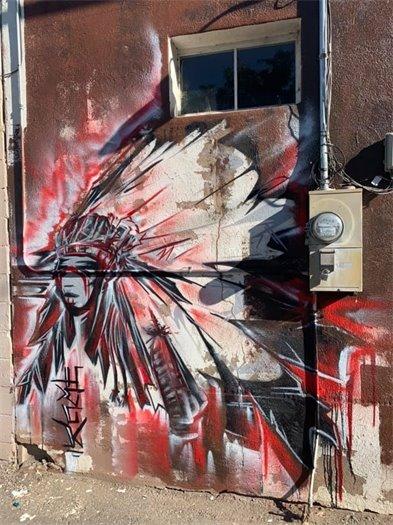 Ivan Lee Mural on HQ