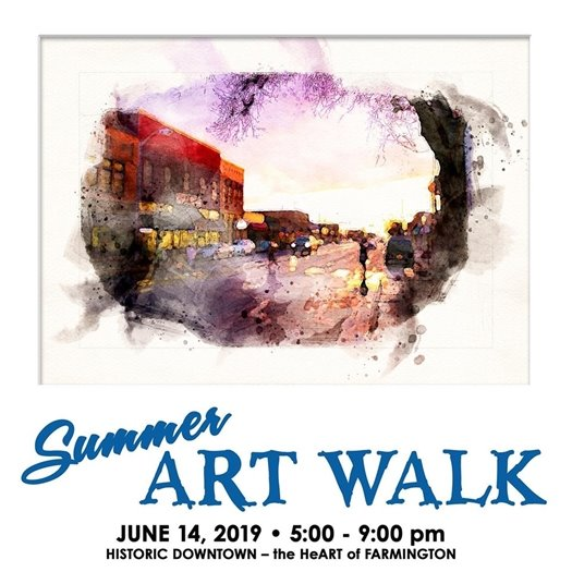 Summer ArtWalk 2019