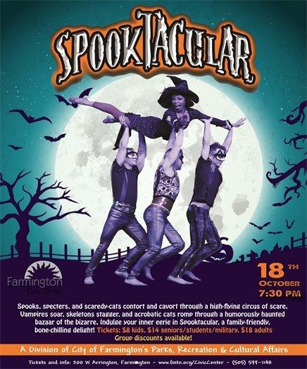 Spooktacular poster 2019