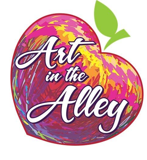 Art in the Alley logo