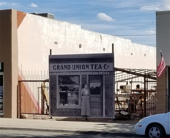Historical Photo Mural Grand Union Tea Co