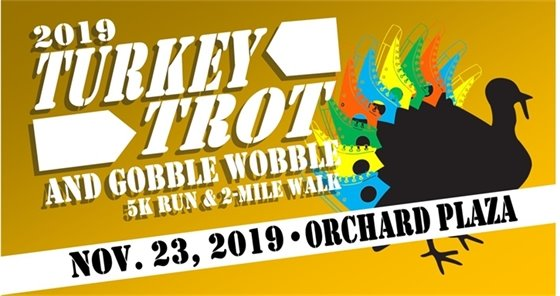2019 Turkey Trot poster