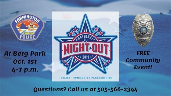 National Night Out 2019 Berg Park