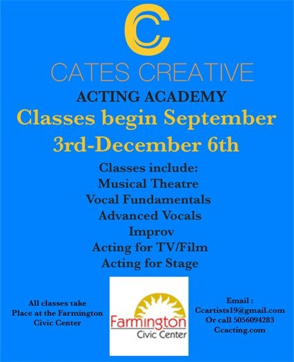 Cates Creative Acting Academy