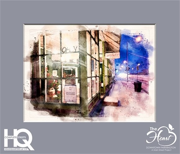 Artifacts in Snow Watercolor Header Matted