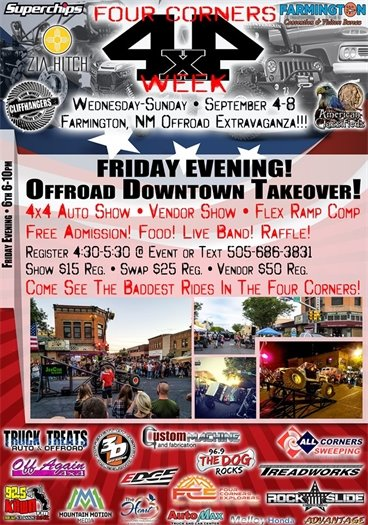 Offroad Downtown Takeover Poster 2019