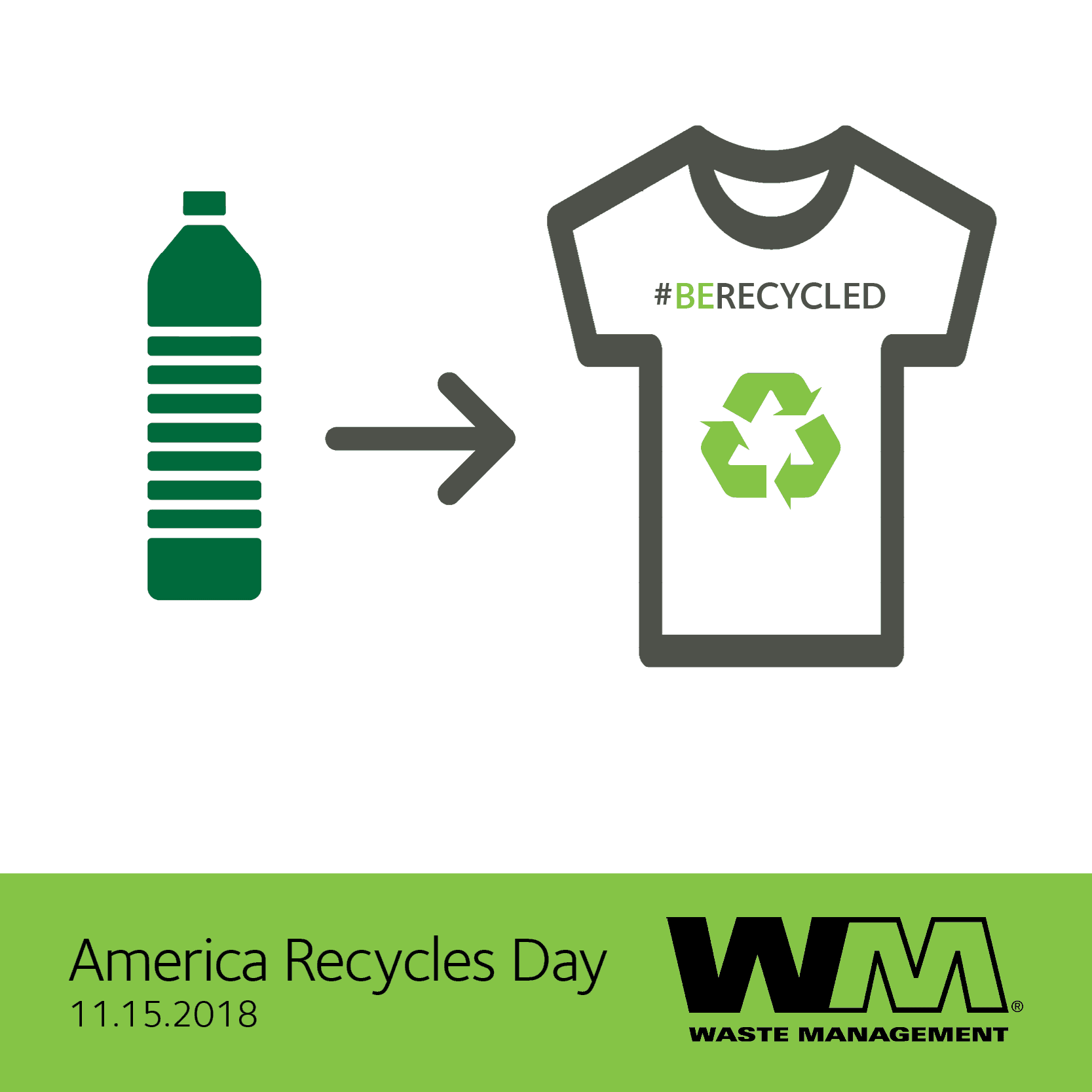 2018 America Recycles Day Social Image