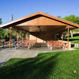 Civitan Park South - Shelter close up