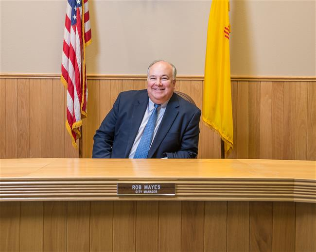 City Manager- Rob Mayes