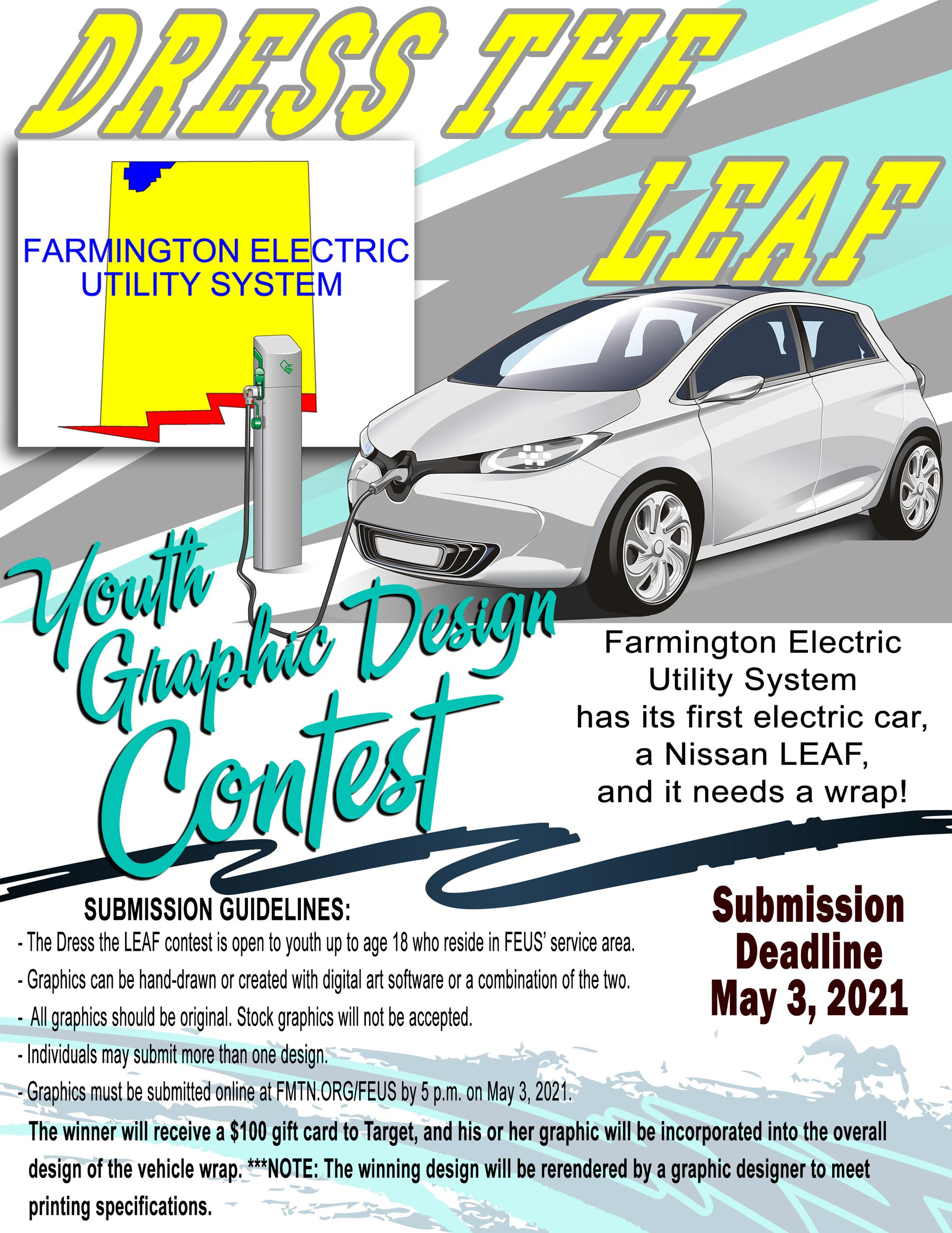 Dress the LEAF Youth Graphic Design Contest